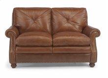 Flexsteel Suffolk Leather Loveseat (DISCONTINUED)