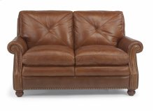 Flexsteel Suffolk Leather Loveseat (DISCONTINUED)