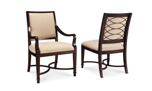 Intrigue Upholstered Arm Chair