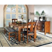 "Lakewood Table, Oak 42""x60""x78"" w/18"" Leaf Product Image"