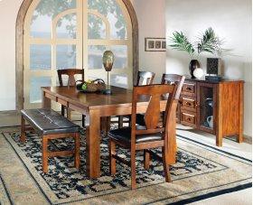 "Lakewood Table, Oak 42""x60""x78"" w/18"" Leaf"