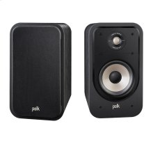 High Resolution Home Theater Bookshelf Speaker in Black