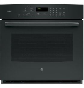 """GE Profile Series 30"""" Built-In Single Convection Wall Oven"""
