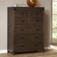 Promenade - Six Drawer Chest - Warm Cocoa Finish