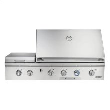 "Heritage 52"" Outdoor Grill, Stainless Steel, Natural Gas"