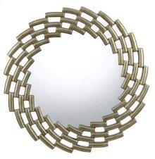 Baldwin round polyurethane mirror