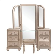 Dynasty Vanity Tri View Mirror