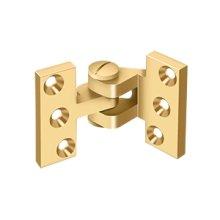 Intermediate Hinge - PVD Polished Brass