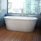 Eidel Bathtub Freestanding with integrated tiling flange Product Image