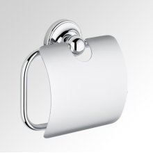 Wall Mounted Wc Paper Holder With Cover