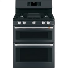 "Café 30"" Free-Standing Gas Double Oven with Convection Range"