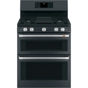 "Cafe AppliancesCaf(eback) 30"" Free-Standing Gas Double Oven with Convection Range"