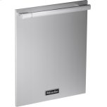 Gfvi 708/77 - Int. Front Panel: W X H, 24 X 30 In In Clean Touch Steel(tm) Finish With Handle For Fully Integrated Dishwashers.