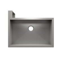 "SocialCorner 005302 - undermount with apron front stainless steel Kitchen sink , 29"" × 18"" × 10"" Left corner"