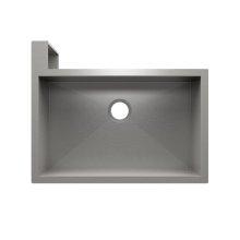 "SocialCorner 005302 - undermount with apron front stainless steel Kitchen sink , 29"" × 18"" × 10"" Left corner"