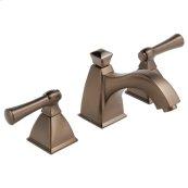 Widespread Lavatory Faucet With Curve Spout