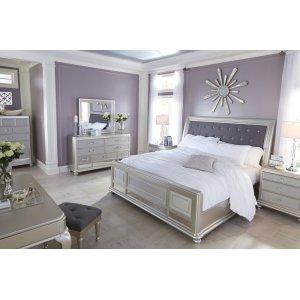 AshleySIGNATURE DESIGN BY ASHLEYCoralayne - Silver 5 Piece Bedroom Set