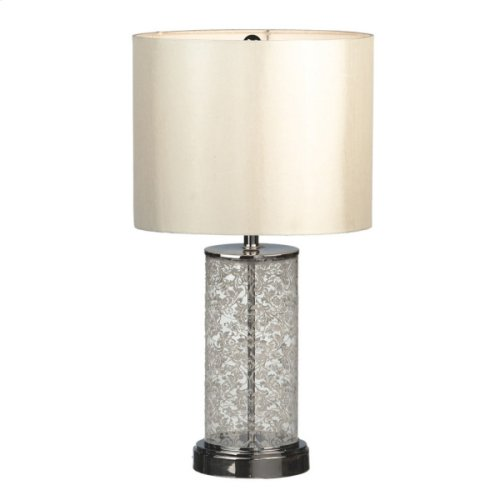 White Lace Table Lamp. 60W Max.