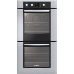 "Bosch27"" Double Wall Oven 300 Series - Stainless Steel HBN3550UC"