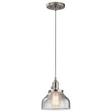 Avery Collection Avery 1 Light Mini Pendant NI