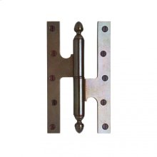 "Paumelle Hinge - 5"" Silicon Bronze Brushed"
