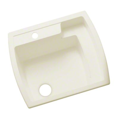 "Latitude® Undercounter Utility Sink, 25"" x 22"" x 12"" - KOHLER Biscuit"