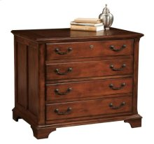Weathered Cherry Executive Lateral File