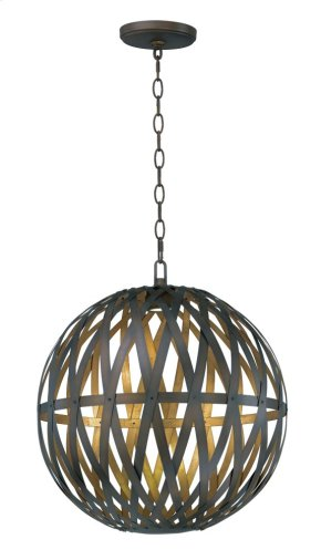 Weave LED 1-Light Pendant