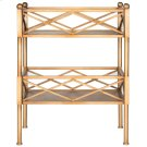 Jamese Storage Shelves - Gold Product Image