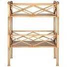 Jamese Storage Shelves - Gold Product Image
