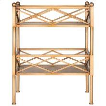 Jamese Storage Shelves - Gold