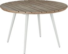 Essentials Dining Round Dining Table - Aluminum Top