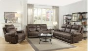 Glider Loveseat W/ Console Product Image