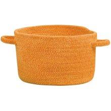 Orange Crush Chenille Creations Basket