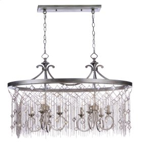 Alessandra 8-Light Island Chandelier