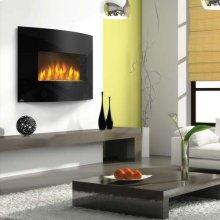 Convex Front Electric Fireplace