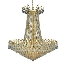 8031 Victoria Collection Hanging Fixture Gold Finish