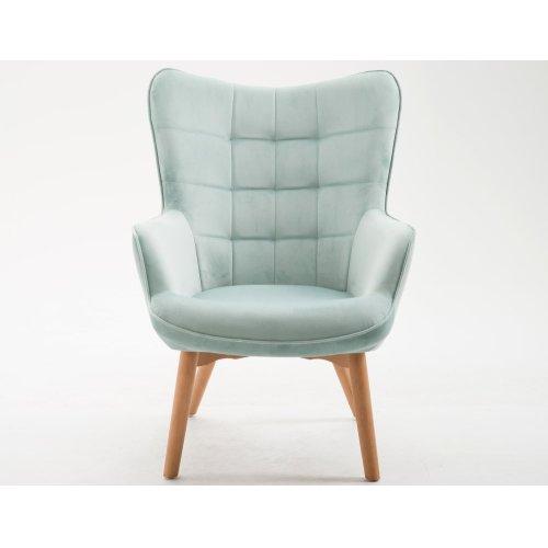 Emerald Home Margo Accent Chair Spa Blue U3328-05-04