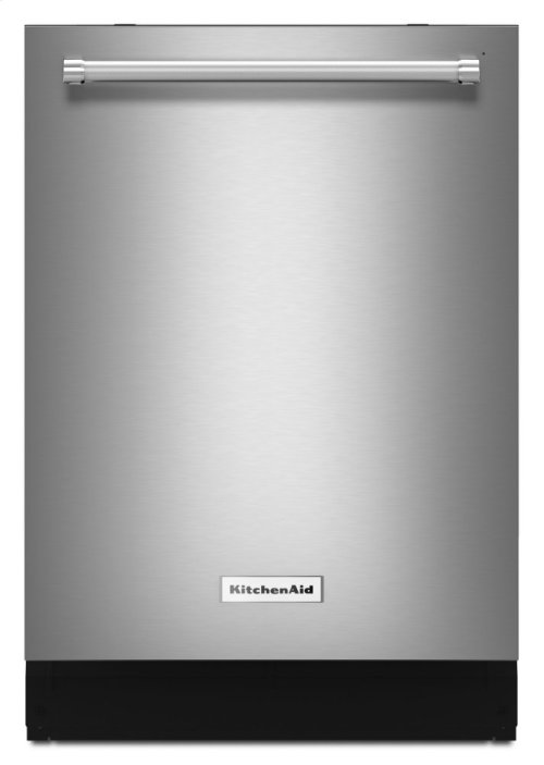 46 DBA Dishwasher with Third Level Rack, Bottle Wash and PrintShield Finish - PrintShield Stainless