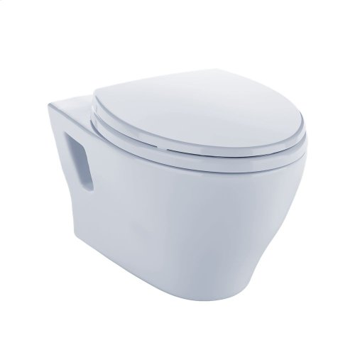 Aquia® Wall-Hung Dual-Flush Toilet, 1.6 GPF & 0.9 GPF, Elongated Bowl Less CeFiONtect - Cotton