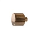 Flute Knob - K10020 Silicon Bronze Brushed Product Image