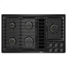 "Black 36""JX3 Gas Downdraft Cooktop Product Image"