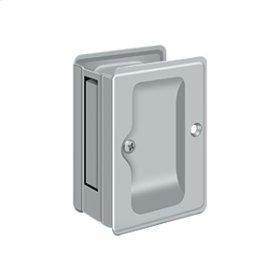"HD Pocket Lock, Adjustable, 3 1/4""x 2 1/4"" Passage - Brushed Chrome"