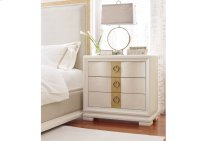 Tower Suite - Pearl Finish Bedside Chest