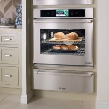 "Discovery 30"" iQ Single Wall Oven, in Stainless Steel with Chrome Trim"