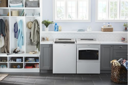 Whirlpool Washer/Dryer Laundry Pair