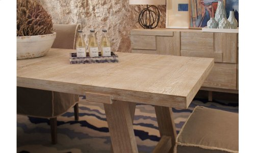 Epicenters Austin Westlake Dining Table - Bisque