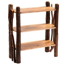 Twig Bookshelf - Natural Hickory
