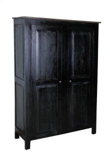 CC-CAB1226TLD-ABSV  Cottage Wide 2 Door Storage Cabinet