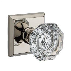 Polished Nickel Crystal Reserve Knob